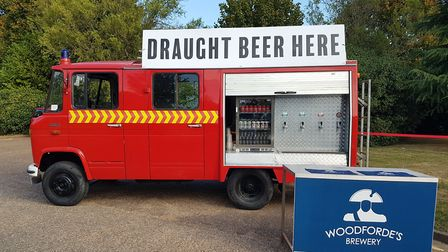 The Norfolk Beer Engine will be serving pints from its truck Picture: Supplied by AfterDark Promotio