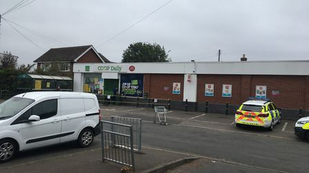 The Co-op Foodstore in New Costessey has been broken into Picture: Dan Grimmer