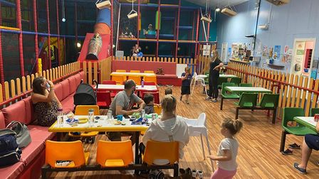Hulabaloos at Wymondham opened for the first day today, and manager Sarah Midgley said it went bette