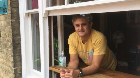 Alex Campeao, owner of Copa Cubana on Upper King Street. Picture: Archant