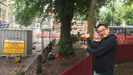 Shun Tomii, owner of Shiki Japanese restaurant in Norwich. Picture: Archant
