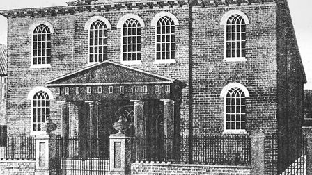 An archive picture of the original Princes Street United Reformed Church which dates back to 1828. P