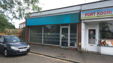An empty property in Aylsham Crescent in Norwich could become a cafe/takeaway. Pic: Dan Grimmer