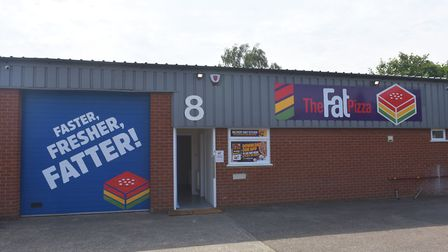 The Fat Pizza is based at the Sweet Briar Industrial Estate in Norwich Pictures: BRITTANY WOODMAN