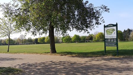 Eaton Park pictured in April 2020. Pictures: BRITTANY WOODMAN