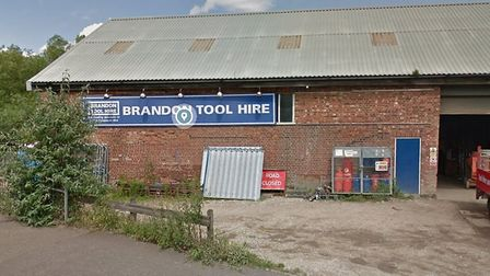 Plans have been submitted to turn the former Brandon Tool Hire store into a VR escape room. Picture: