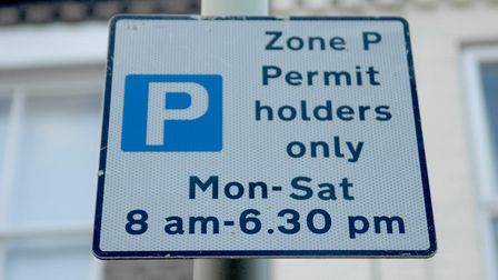Parking permits in Norwich are going paperless. Photo: Denise Bradley.
