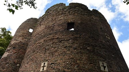 Cow tower, Norwich. PIC: Sonya Duncan