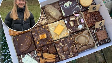 Eat With Ella delivers brownies, blondies and baked goods to your door Picture: Ella Marsham