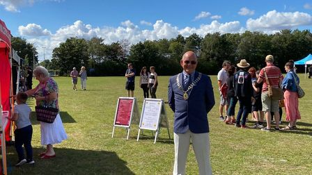 A pop-up high street to help traders affected by coronavirus was held in Fitzmaurice Park in Thorpe
