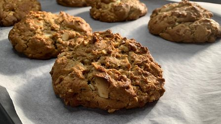 Cookies fresh out of the oven from Choowey 'N' Goowey Picture: Supplied