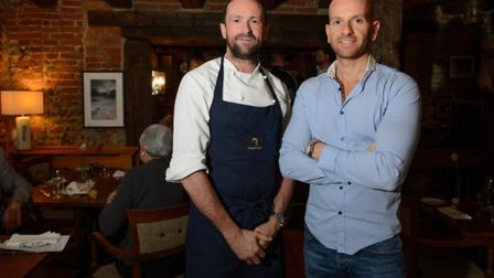 Chef Dan Smith and business partner Greg Adjemian who own the Warwick Street Social, Ingham Swan and