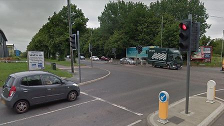 Work to resurface Sweet Briar Road in Norwich will bring disruption. Pic: Google Street View.