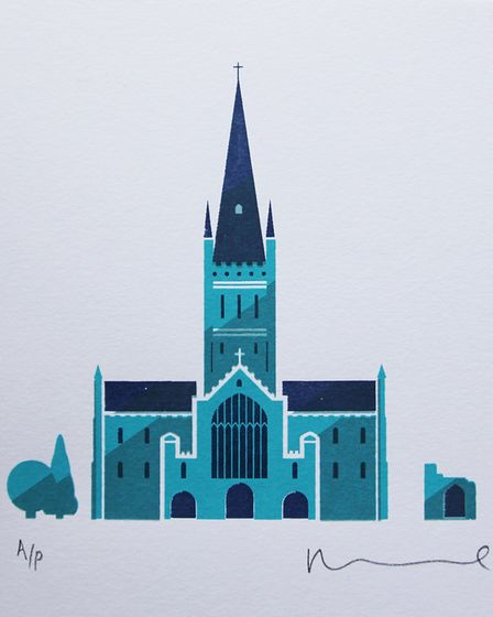The Norwich Print Fair have launched their Mini-Print Raffle. With each raffle ticket comes a chance