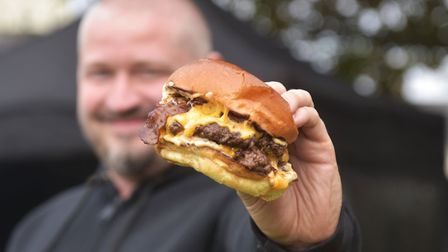 Owner Tom Shiers says his burgers stand out because of the quality of ingredients, which he has care