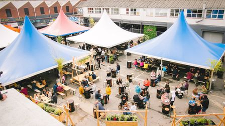 Norwich's Junkyard Market is in the car park at St Mary's Works Picture: Junior @DN.IMAGERY
