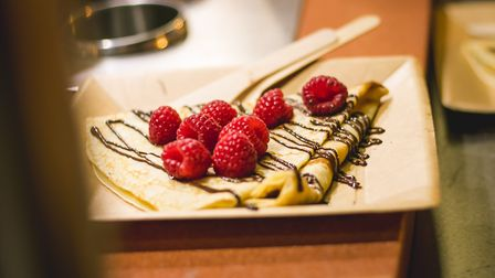 Pancakes from Christophe's Crepes, based in Norwich Picture: Junior @DN.IMAGERY