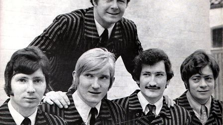 Garry Freeman & The Contours who became The Anglians. Picture: East Anglian Music Archive