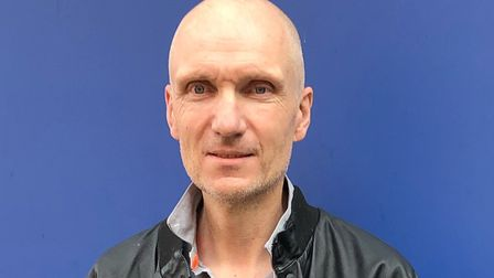 Patient Peter Fabb, 53, underwent the operation. Picture: NNUH