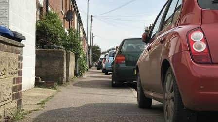 Parking on pavements is necessary for many living in old terraced streets which were built before ca