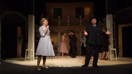 Much Ado About Nothing beign performed at the Maddermarket Theatre in Norwich. Picture: James Goffin