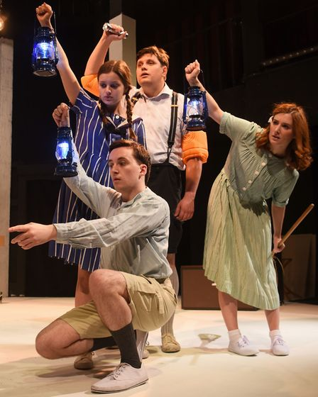 Maddermarket Theatre's summer production of Swallows and Amazons in 2017. Picture: Denise Bradley