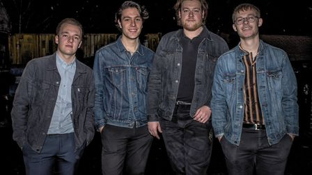 Norwich band The Revere is made up of Matt Williamson, Billy Dunthorne, Cameron and Alfie Britcher.
