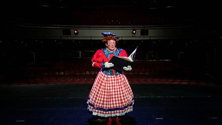 Richard Gauntlett in Panto in a Pickle! Picture: Max Hilton