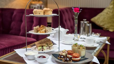 Afternoon tea at The Maids Head Hotel, Norwich. Picture: The Maids Head Hotel