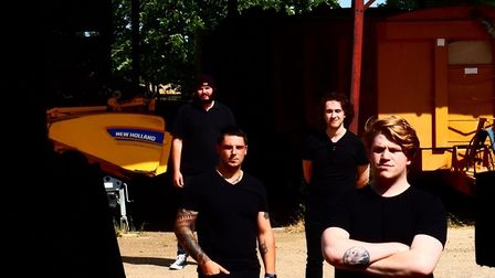 Norwich alternative rock band Settlem3nt have released their brand new single Champagne. Picture: Ja