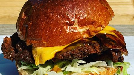 Bajan chicken sandwich from Soul Kitchen at the Last Pub Standing Picture: Contributed
