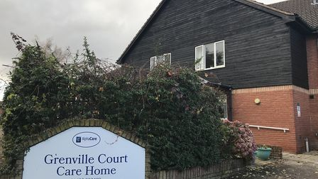 Grenville Court care home in Horsford has been rated inadequate by the Care Quality Commission. Pict