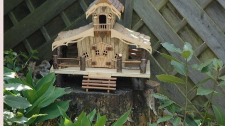 A 'fairy house' one of the projects completed at the Swaffham Men's Shed. Picture: Supplied by Swaff