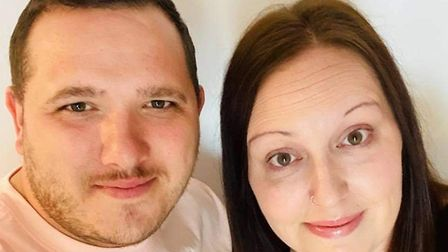 Bake Away owners Terry and Nikita Pegler, who launched the business in 2017 and opened the shop in S