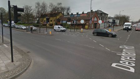 The Dereham Road and Grapes Hill junction in Norwich. Picture: Google