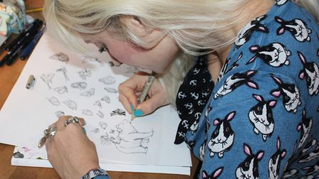 Illustrator Ella Goodwins new show at the Circle Space gallery in Norwich, is set to showcase her ne