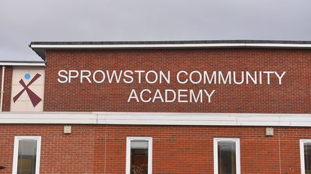 Sprowston Community Academy. Pictures: BRITTANY WOODMAN