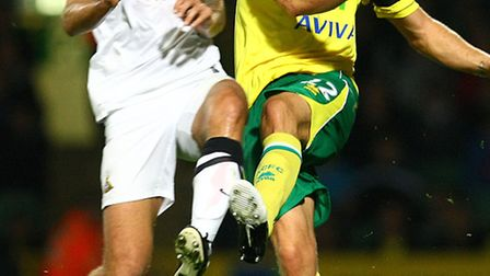 Farewell outing? Elliott Ward last played for Norwich City against Doncaster in the Capital One Cup.