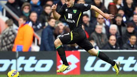 Robert Snodgrass is Norwich City's leading scorer with five goals so far this season.