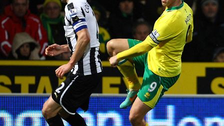 Chris Hughton acknowledged Grant Holt's influence spreads far beyond the confines of the pitch on a