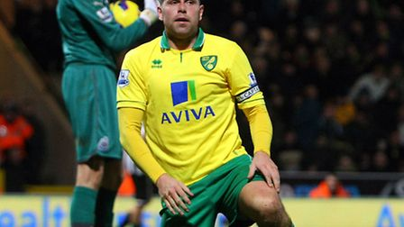 Grant Holt returned to action for the final 22 minutes of Norwich City's Premier League goalless dra