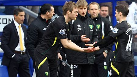 Luciano Becchio's position in the Norwich City starting eleven was one of many topics discussed in t