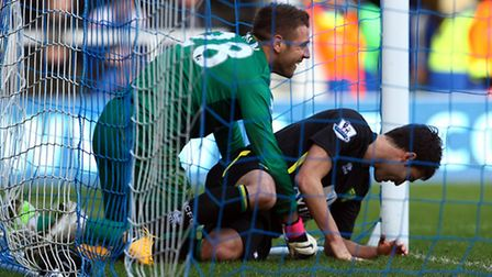 Mark Bunn and Javier Garrido may have ended up in the Norwich City goal at QPR, but another outstand