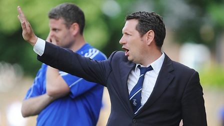 Wroxham boss David Batch admits Concord Rangers will be the favourites against his side this evening
