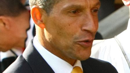 Chris Hughton wants to see his Norwich City side bounce back against Spurs tonight.