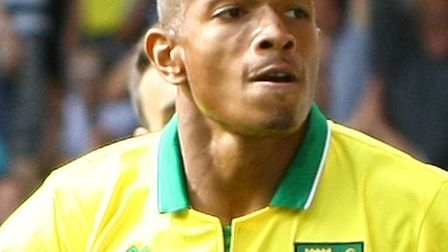 Simeon Jackson opened the scoring against QPR in the 1-1 draw at Carrow Road when the two teams met