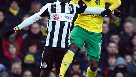 Sebastien Bassong was sorely missed by Norwich City at the weekend.