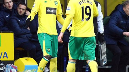 After Luciano Becchio had put in a good shift impact sub Kei Kamara came on to finish the job.