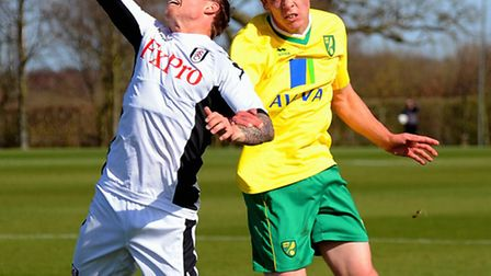 Defender Harry Toffolo scored twice for Norwich City.
