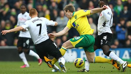 Norwich City new boy Luciano Becchio on his full debut - a match which proved to be so forgettable t
